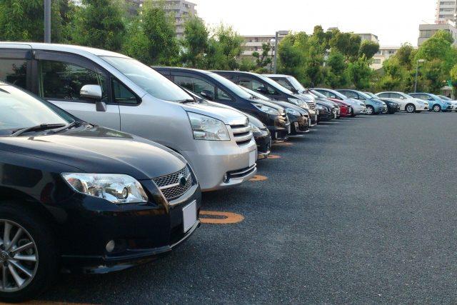 病院の駐車場について